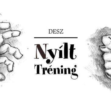 Nyílt tréning 2019.03.19. 18.00