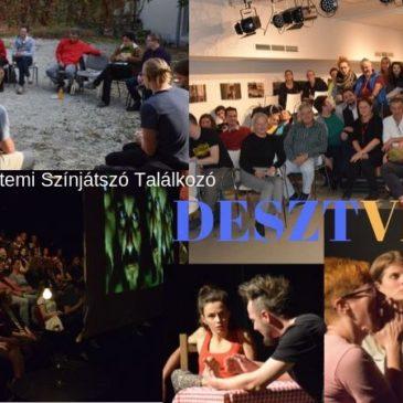 2019.10.17. 17:00 Megnyitó – 7. Debreceni Egyetemi Színjátszó Találkozó