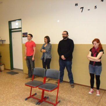 2019.05.12. 16.00 Proscenion Drámaszínpad: Nyílt előadás! Konfliktus vs. kompromisszum