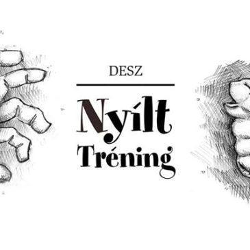 2018.09.18. 18:00 Nyílt tréning