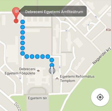 Térkép az Amfiteátrumhoz!